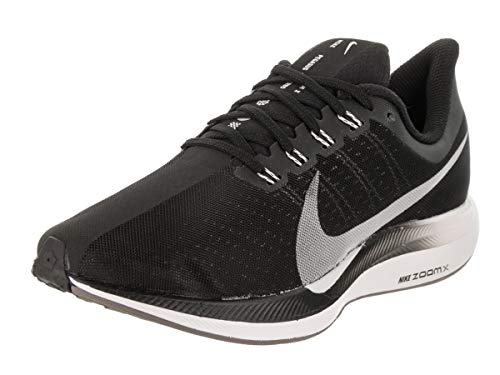 Nike Women's Zoom Pegasus 35 Turbo Running Shoes (8.5, Black)
