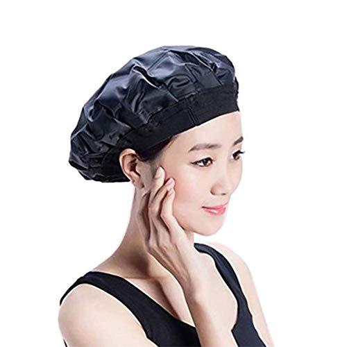 H&RB sans Fil Chaud/Froid Thérapie De Cheveux Chapeau De Chaleur Thermique pour Le Traitement De l'huile De Cheveux Respectueux De l'environnement, Le Conditionnement