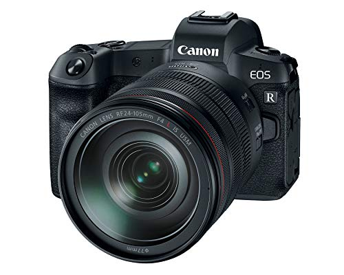 Canon EOS R Mirrorless Full Frame Camera with RF 24-105mm F/4L IS USM Lens Kit (3075C012)
