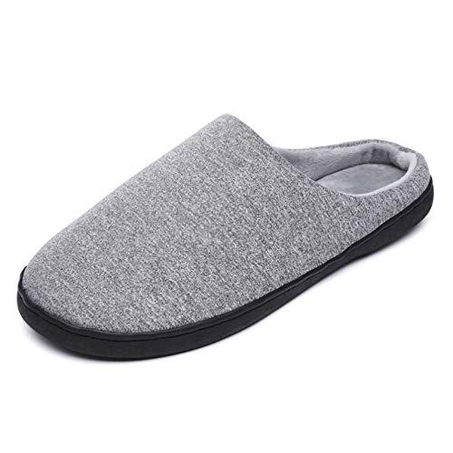 Luntus Zapatillas de casa para Hombre Zapatos cálidos de Invierno con Zapato Plano Informal Calzado para Hombre Zapatillas Antideslizantes Comodidad