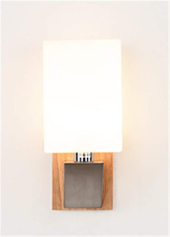 Nordic Kreative Led Wandleuchte Massivholz Wohnzimmer Wandleuchte Studie Schlafzimmer Nachttischlampe Einfache Moderne