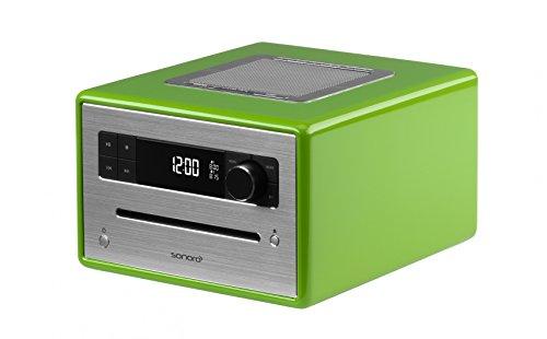 SonoroCD FM/DAB+ radio, Bluetooth, CD-speler met MP3-weergave, groen, SO210-GR