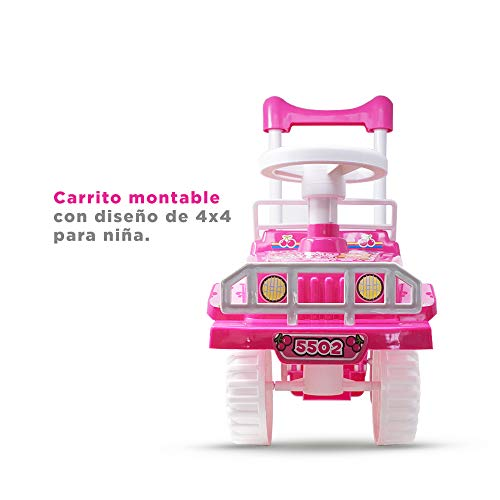 TOP POWER Carrito MONTABLE Tipo 4X4 MY-5502P (Rosa)