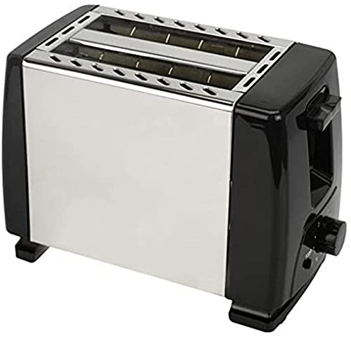 Automatic toaster toaster with 2x large width slits for up to 4x 6x stages silks with hot roll for croissants Bagels taken European Baifantastic