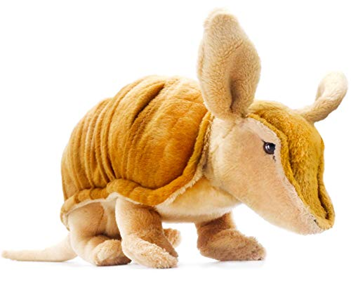 VIAHART Mike The Armadillo   10 Inch (Tail Measurement not Included!) Stuffed Animal Plush   by Tiger Tale Toys -  721107392842