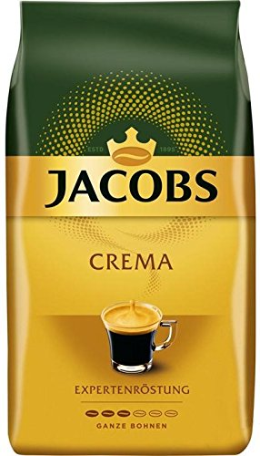 Jacobs Crema d Aroma, Whole Coffee Beans, for all Coffee Machines, Intensity 3, 1000g