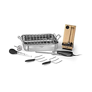 Cuisinart 7117-16EPS Roaster with Electric Knife & Tools, 16 , Stainless Steel