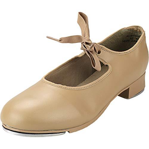Capezio Women's N625 Jr. Tyette Tap Shoe, Caramel, 7 W US