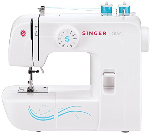 SINGER Start 1304 6 Built-in Stitches, Free Arm Best Sewing Machine for Beginners, 11.46 pounds