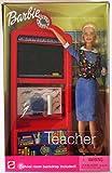 Barbie Teacher Doll w/ School Room Backdrop