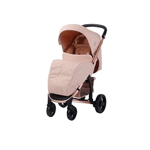 My Babiie Billie Faiers MB200 Rose Blush Pushchair My Babiie Billie Faiers Suitable from birth to maximum 15kg Extendable 3 position canopy Lockable swivel front wheels 1