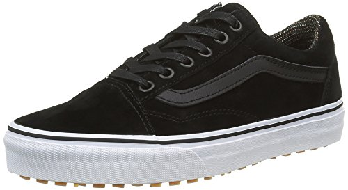 Vans Old Skool, Zapatillas Unisex Adulto, Negro (MTE Black/Tweed), 44.5 EU