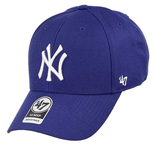 47 New York Yankees Adjustable Cap MVP MLB Dark Royal - One-Size