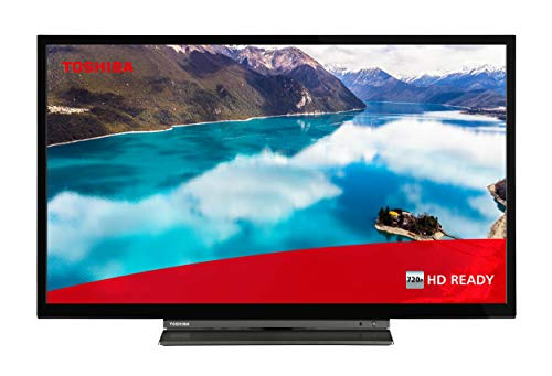 Toshiba 24WL3C63DAX 24 Zoll Fernseher (HD ready, Smart TV inkl. Prime Video / Netflix, Bluetooth, WLAN, Triple Tuner, Works with Alexa)