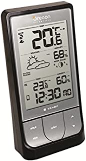 Oregon Scientific - BAR218HG - Weather@Home Bluetooth-enabled Weather Station