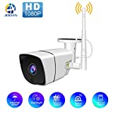 Wireless 1080P Outdoor WiFi Security Camera,JOOAN 2MP HD IP Home Surveillance Camera System
