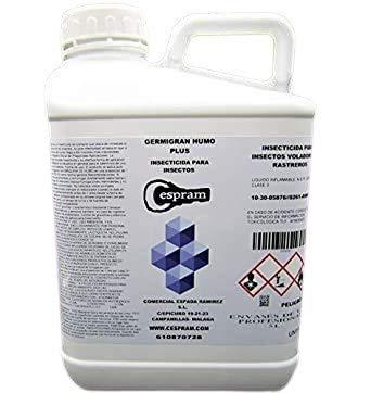 CESPRAM, Insecticida de amplia acción para aplicar con máquina de humo. Germigran Humo Plus. Envase de 5 litros.