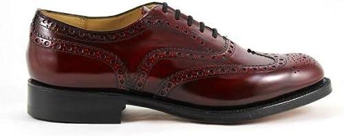 Chaussures à Lacets Burwood Burgundy FUMé Church's