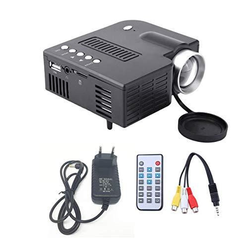 UC28A Mini Proyector LED portátil 1080P Multimedia Cine en casa Teatro