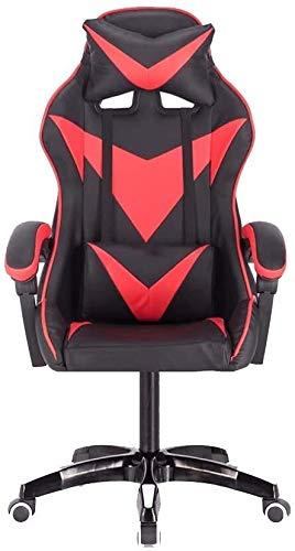 DBL Presidente de juego, elevando Rotary diseño ergonómico silla de Electronic Sports reclinables con reposacabezas y Masaje almohada lumbar silla de la computadora del hogar Las sillas de escritorio