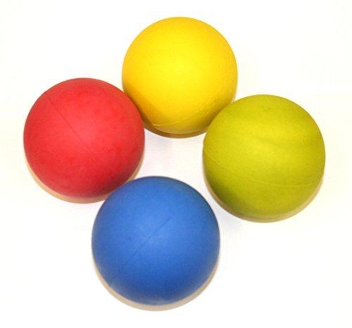 Hyfive - Hund Kugeln - Floating Gummikugeln für Fetch Schulung - 4 Stück