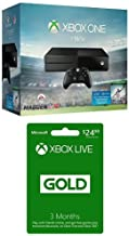 Xbox One 1TB Console - Madden NFL 16 Bundle + 3 Month Live Card [Physical Card with Code]