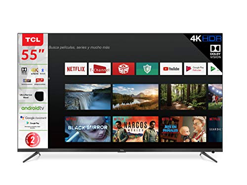 TV 55' TCL 4K UHD Smart Android TV Dolby digital 55A527