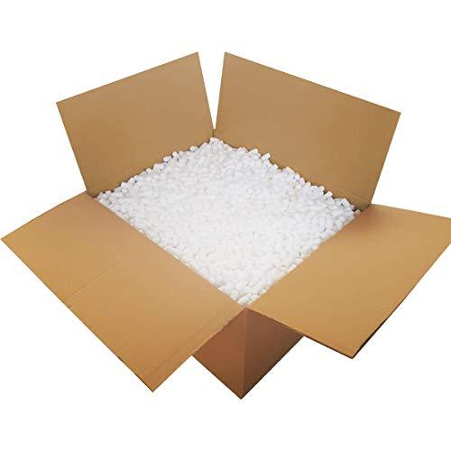 Verpackungschips Maisflips 50L Biologisch Abbaubar | Paket Füllmaterial Gegen Glasbruch | Chips Verpackung | Karton