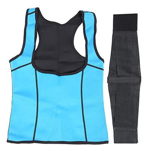 Redxiao Korsett Schweiß Taillentrainer, 6 Verschiedene Größen Frauen Korsett Weste, Komfortable 360-Grad-Druck Hochwertiges Neopren für Frau Taille im Bauch beim Brustheben(3XL-3XL)