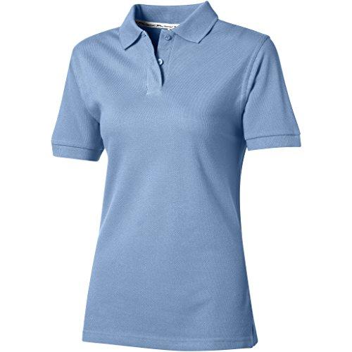 Slazenger Ladies Polo Piqué 100, Light Blue, M