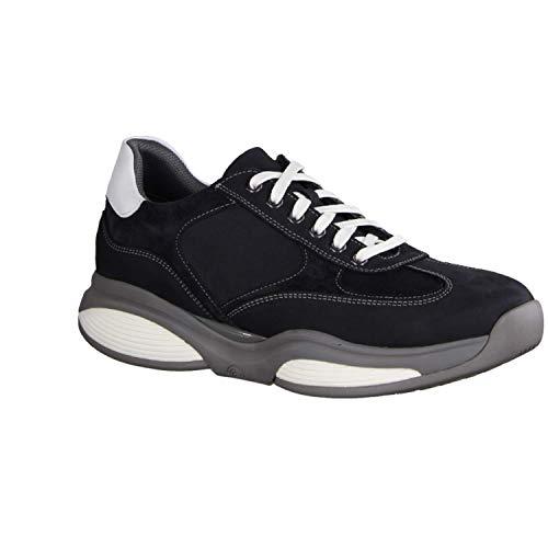 XSENSIBLE SWX12 Navy/White (blauw) - Sneaker - herenschoenen Sneaker/veterschoenen, blauw, leer (stretchleder)
