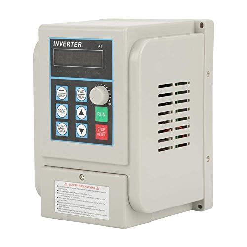 Variador de Frecuencia, Vfd AC 220V 4Kw, Convertidor de Frecuencia Monofasico, Control PWM, Alto Momento de Fuerza, Alta Precisión, Bajo Ruido, Resistancia a Polvo, Humedad