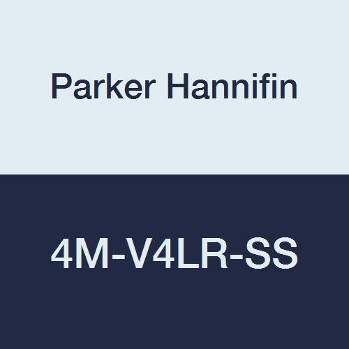 online shop Parker Hannifin 4M-V4LR-SS Series V Purp Stainless Bombing free shipping General Steel