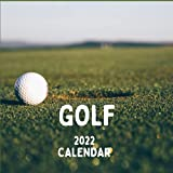 Golf Calendar 2022: Golf Mom or Dad Gift Idea   January 2022 - December 2022 Square Photo Calendar Present For Golfing Lovers   Golfer Monthly Planner With USA Holidays