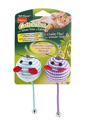 Hartz Cattraction Bell Mouse Cat Toy Only $1.97 (Retail $4.99)