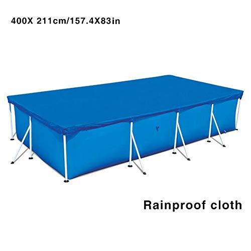 ruist-eu Schwimmbadabdeckung Easy Set Anti-Ultraviolett-Regenschutzabdeckung