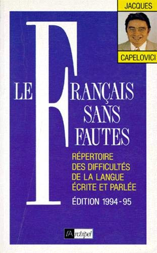 Le francais sans fautes