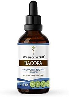 Bacopa Tincture Alcohol-Free Extract, Organic Bacopa (Bacopa Monnieri) Herb (4 fl oz)
