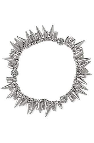 Stella dot Renegade Cluster Bracelets(Silver)