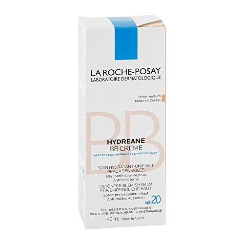 Roche Posay Hydreane Bb Creme mittel bis dunkel 40 ml