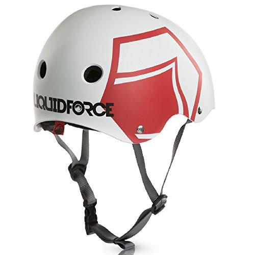 Liquid Force - Casco Wakeboard Helmet Hero bianco