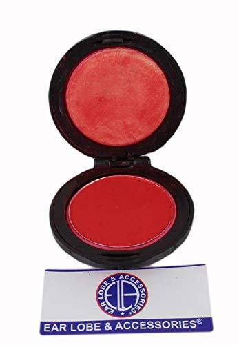 Ear Lobe & Accessories Temporary Hair Colour Chalk (Red), Multicolor, 50 g