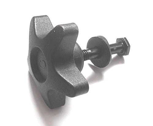 Replacement Parts for Rollator RLA6/RLA8 Compass Health/Roscoe/ProBasics (Height Adjustment Knobs - Pair)
