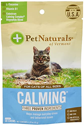 Top 10 best selling list for cat supplements for stress