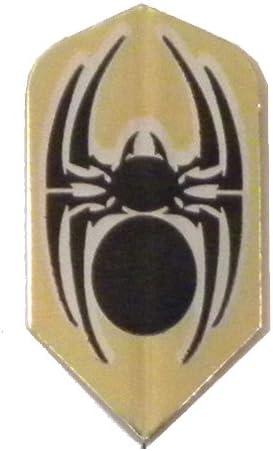 3 Sets #3632 AmeriThon shopping Gold Black Dart Fl Tribal Spider Metallic Superior