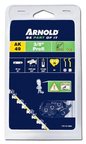 Arnold Sägekette 3/8 Zoll Profi, 1.5 mm, 64 Treibglieder, 45 cm Schwert 1191-X3-5864