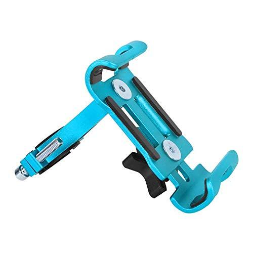 Instalación del Soporte del teléfono móvil Manillar de Bicicleta Soporte de aleación de Aluminio Motocicleta Ciclismo al Aire Libre navegación del Manillar Soporte Fijo-_No Giratorio 4