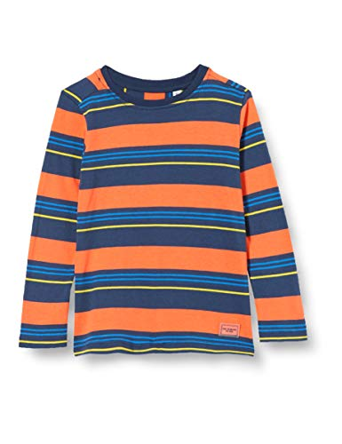 TOM TAILOR Baby-Jungen Langarmshirt T-Shirt, Dress Blues|Blue, 116/122