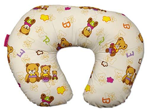 Montu Bunty Wear 5 in 1 Boppy Alternative Nursing Feeding Pillow with Cotton Slipcover