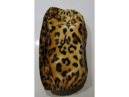 OMP Paraorecchie per Cani cuffiette Copri Orecchie per Cocker Spaniel Cavalier King (Leopard)